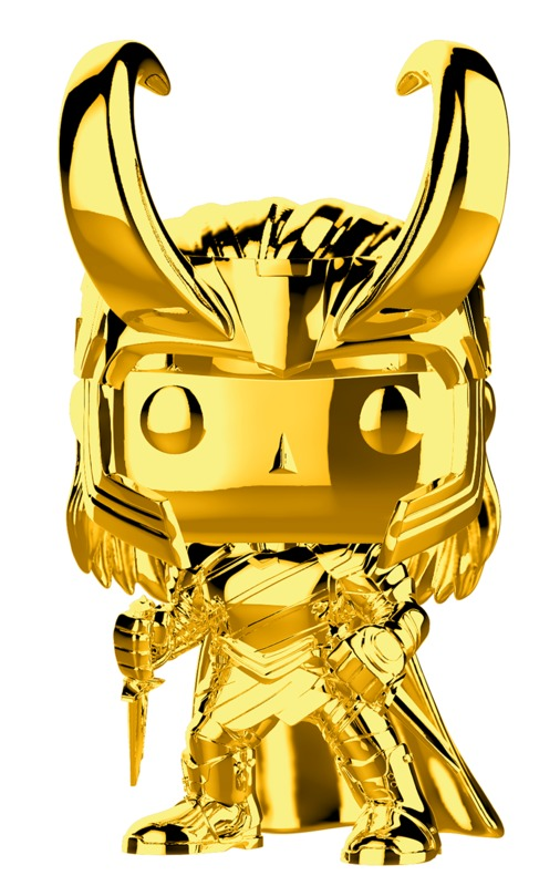 Marvel Studios - Loki Gold Chrome Pop! Vinyl Figure