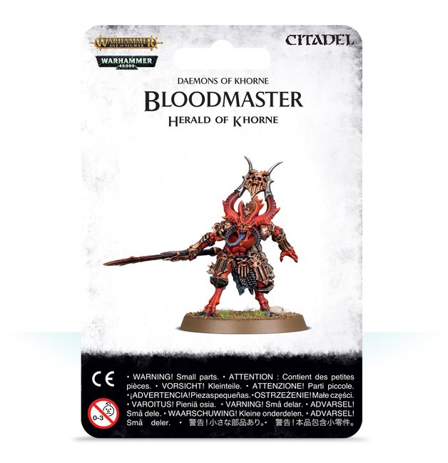 Warhammer Age of Sigmar: Bloodmaster Herald Of Khorne