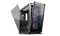 Deepcool Matrexx 70 RGB Fan x3 ATX Minimalist Tempered Glass Case image