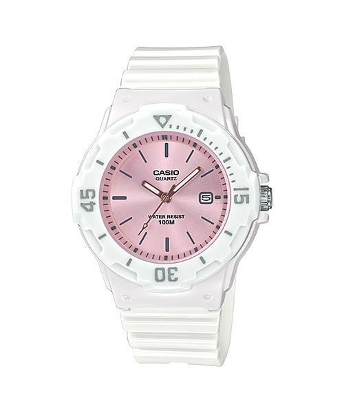 Casio Youth Series Watch Pink/White - LRW-200H-4E3VDF