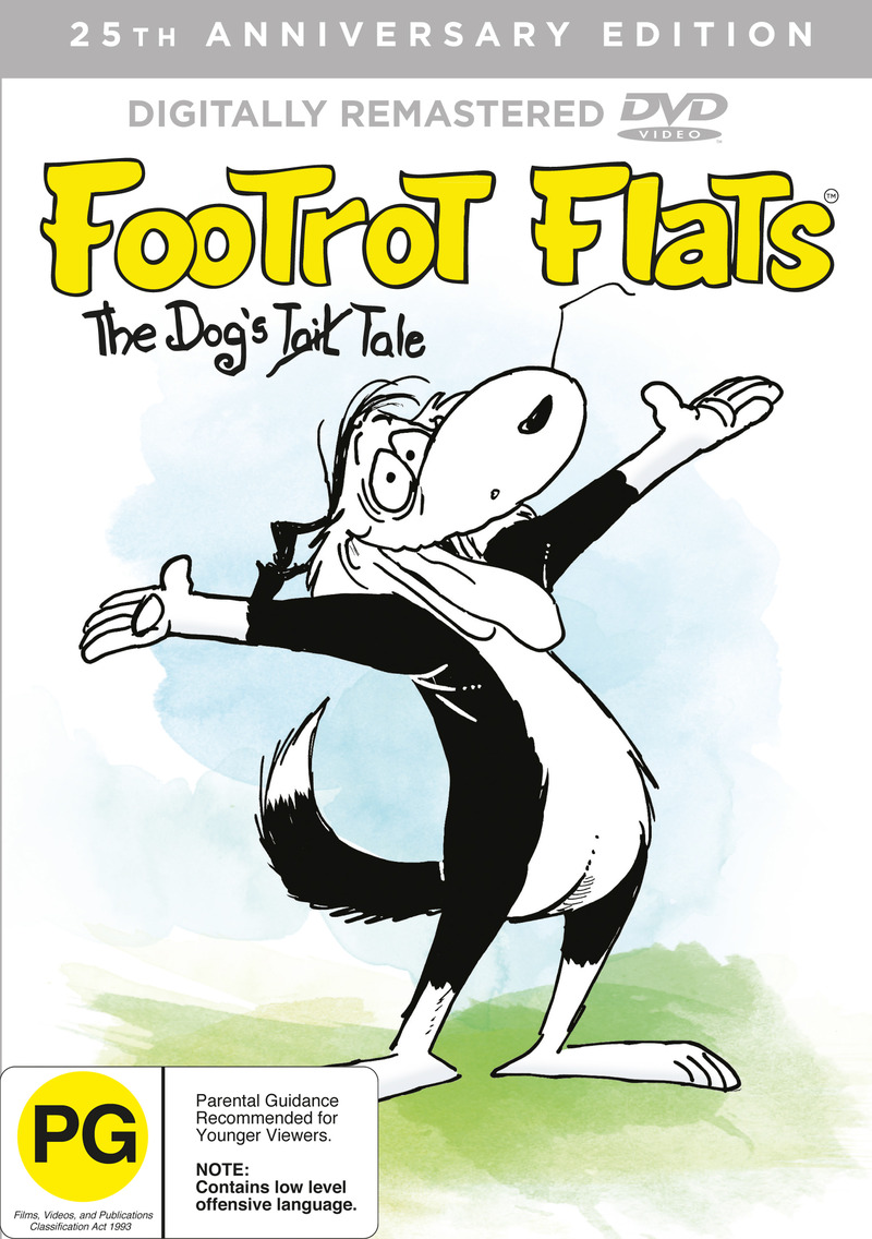 Footrot Flats The Dog's Tale (Re-Mastered) on DVD image