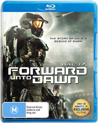 Halo 4: Forward Unto Dawn on Blu-ray