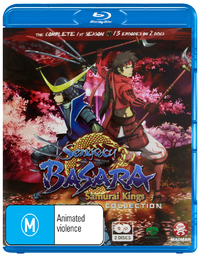 Sengoku Basara - Samurai Kings: Season 1 Collection (2 Disc Set) on Blu-ray