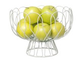 Wired Fruit Bowl - White
