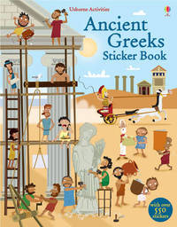 Ancient Greeks Sticker Book by Fiona Watt