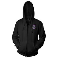 StarCraft II Heart of the Swarm Zerg Vintage Logo Zip-up Hoodie (Small)