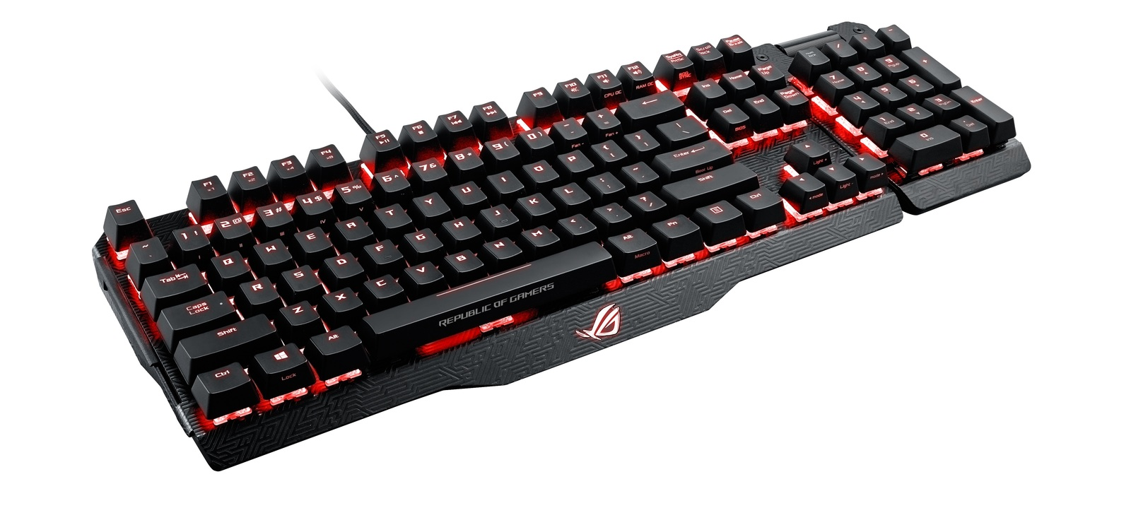 ASUS ROG Claymore Gaming Keyboard (Cherry MX Blue) for  image