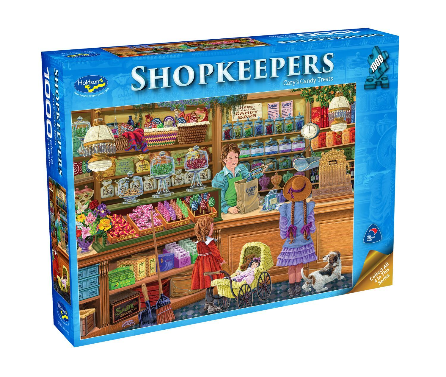 Holdson: Shopkeepers - Cary's Candy Treats (1000 pc) image
