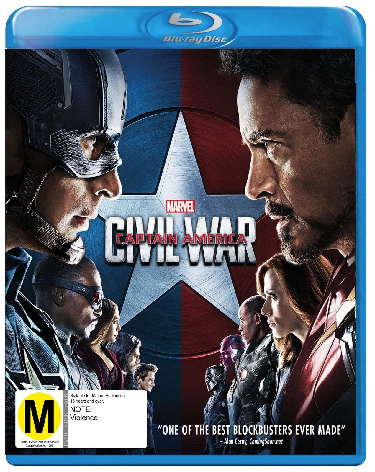 Captain America: Civil War on Blu-ray image