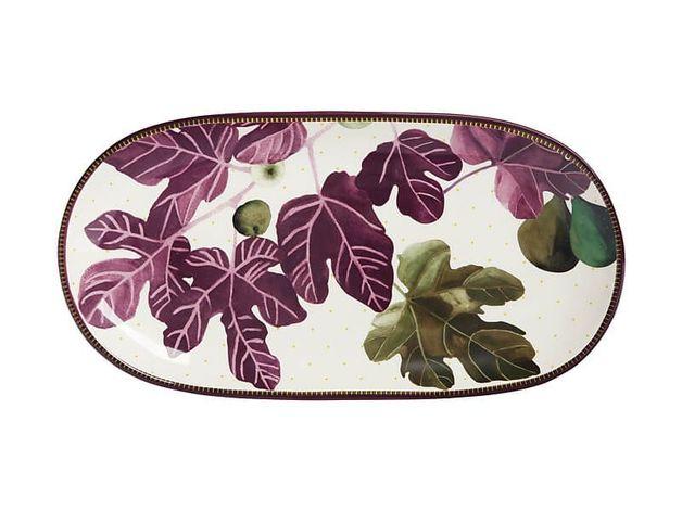 Maxwell & Williams: Fig Garden Oblong Platter - 33cm