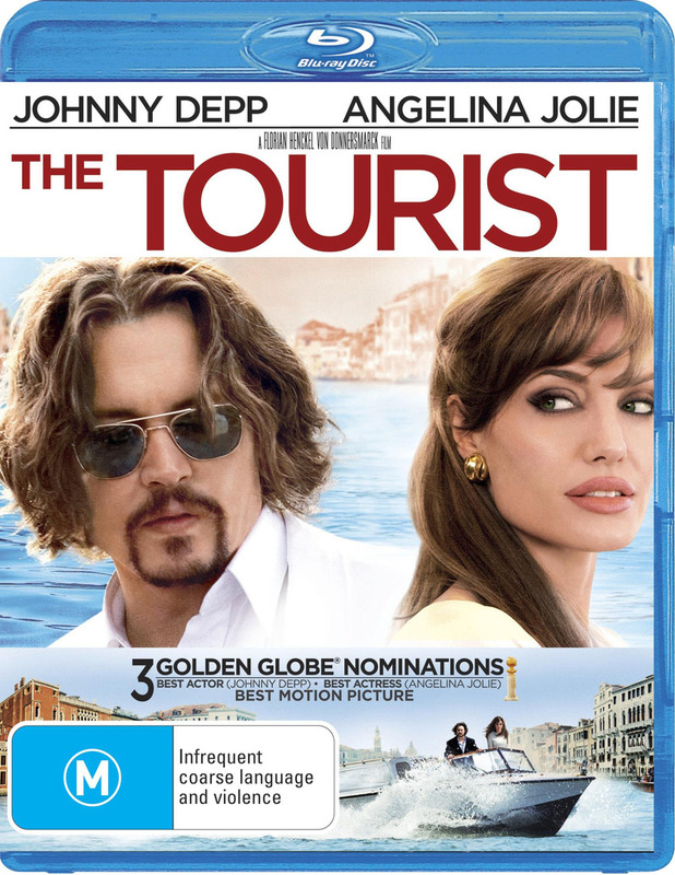 The Tourist on Blu-ray