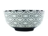 Christopher Vine Alcazar Bowl - Black Kurv (18cm)
