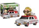 Ghostbusters - Jillian Holtzmann & Ecto-1 Pop! Vinyl Vehicle