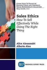 Sales Ethics by Alberto Aleo