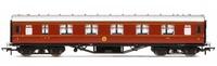 Hornby: LMS Corridor 1st Class '1041', Crimson Lake