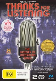 Thanks for Listening - The History of Australian Radio on DVD