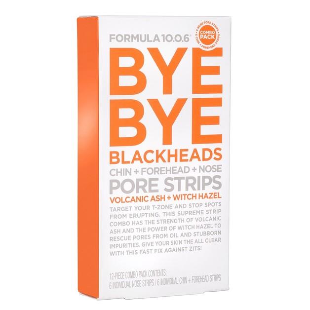 Formula 10.0.6 - Bye Bye Blackheads Pore Strips