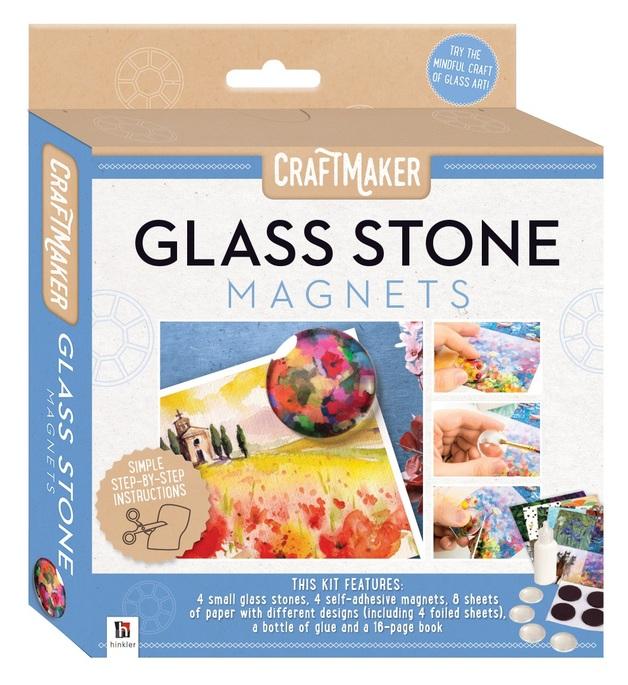 CraftMaker: Glass-Art Mini Kit - Glass Art Magnets