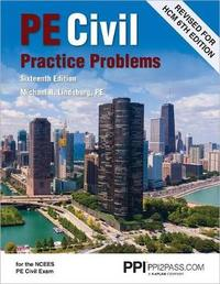 Pe Civil Practice Problems by Michael R Lindeburg