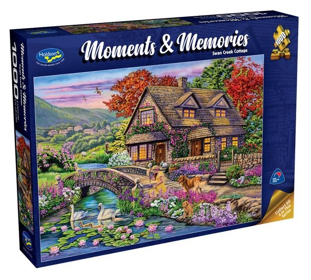 Holdson: 1000 Piece Puzzle - Moments & Memories S2 (Creek Cottage)
