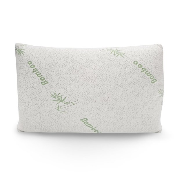 Royal Comfort: Bamboo Covered Memory Foam Pillow - Single