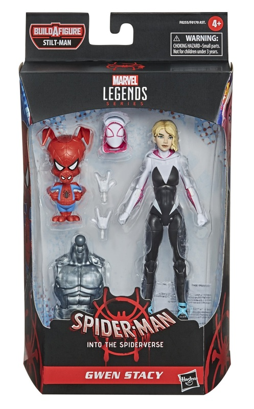 Marvel: Legends Series Figure - Gwen Stacy & Spider-Ham