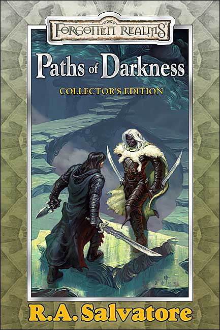 Forgotten Realms: Paths of Darkness Collection: The Silent Blade/The Spine of the World/Servant of the Shard/Sea of Swords (Legend of Drizzt) by R.A. Salvatore image