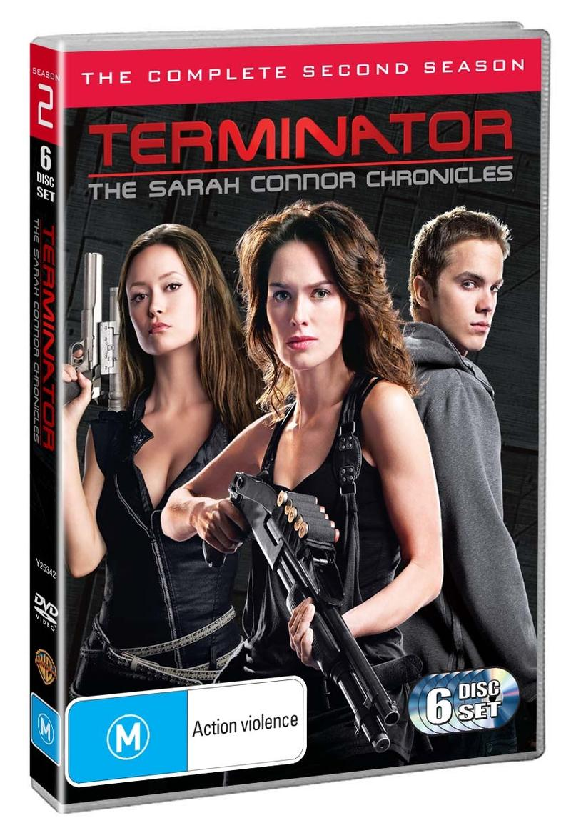 Terminator: The Sarah Connor Chronicles - The Complete 2nd Season (6 Disc Set) DVD image
