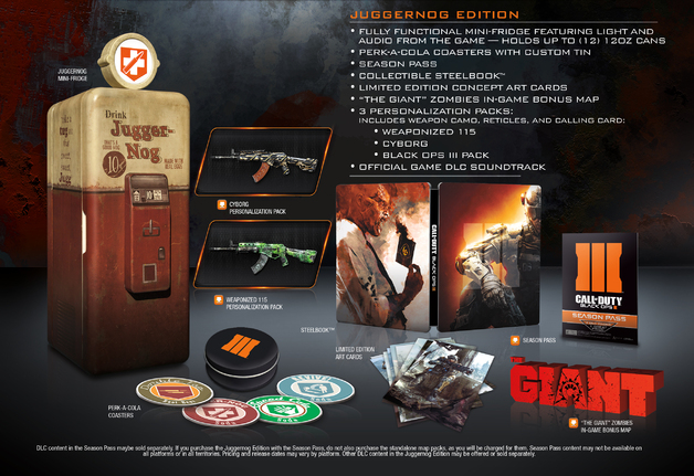 Call of Duty: Black Ops III Juggernog Edition for PS4
