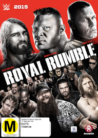 WWE: Royal Rumble 2015 on DVD