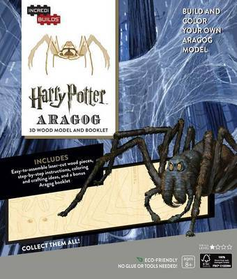 Incredibuilds: Harry Potter: Aragog 3D Wood Model and Booklet by Jody Revenson