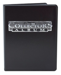 Ultra Pro: 9-Pocket Collectors Portfolio - Black