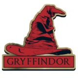Harry Potter Gryffindor Sorting Hat Badge