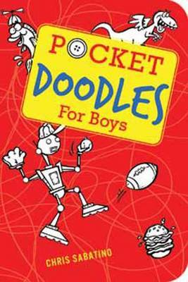 Pocket Doodles for Boys by Chris Sabatino image