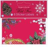 Wild Fern Sticker Labels (8 Pack)