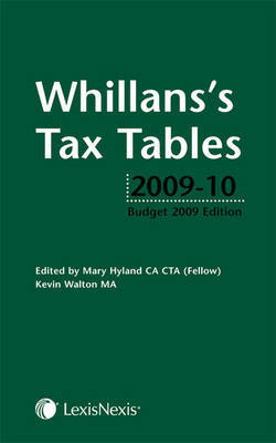 Whillans's Tax Tables by Mary Hyland