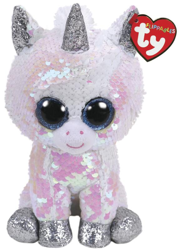 TY Beanie Boo: Flip Diamond Unicorn - Small Plush