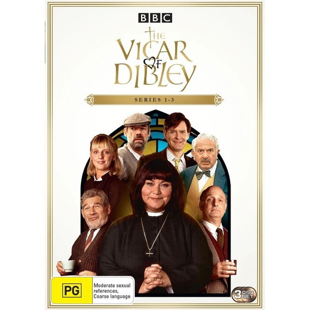 Vicar of Dibley - Series 1 - 3 on DVD