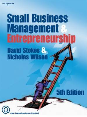 Small Business Management and Entrepreneurship by David Stokes image