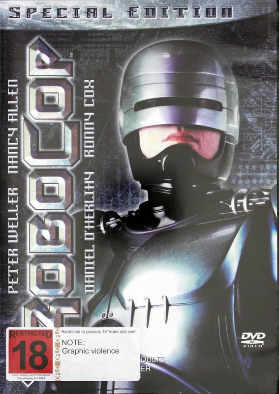 RoboCop - Director's Cut (Special Edition) on DVD