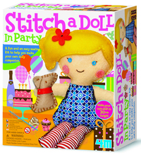 4M: Craft - Stitch a Doll In Party