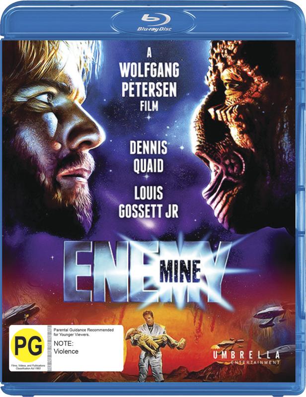 Enemy Mine on Blu-ray