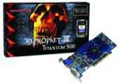 3D PROPHET III TITANIUM 500 - 64MB TV OUT & DVI OUT (PC) for PC