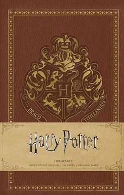 Harry Potter: Hogwarts Ruled Pocket Journal by Insight Editions