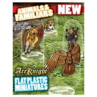 Arcknight Flat Plastic Minis: Animals & Familiars