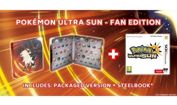 what is pokemon ultra sun fan edition