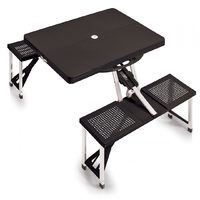 Portable Foldaway Picnic Table - Black