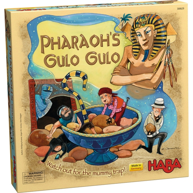 Pharaohs Gulo Gulo - Board Game