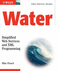 Water: Simplified Web Services and XML Programming by M. Plusch image