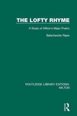 The Lofty Rhyme by Rajan Balachandra
